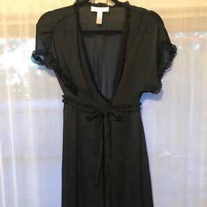 Oscar de la renta coverup/ robe size large